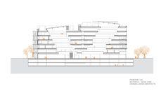 Imagen 17 de 17 de la galería de Domicilio Microsoft / Henning Larsen Architects. Corte
