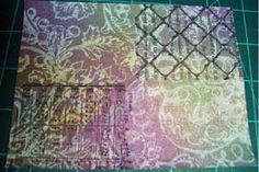 Splitcoaststampers - Acrylic Resist Technique Tutorial by Shelly Kuck...Create stunning backgrounds with acrylic paints and Distress reinkers.