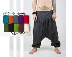 Black++Harem+Pants+++Aladdin+Pants++Harem+Trousers++by+manaKAmana