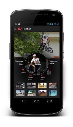 profile screen 3