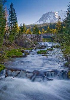 Hat Creek, Lassen Volcanic National Park, California
