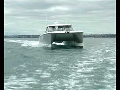 Tiberius Powercat doing sea trials Boat Building Plans, Cool Boats, Boat Design, Water Crafts, Auckland, Trials, New Zealand, Fishing, Projects