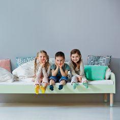 Flexa Kinderbett in mintgrün