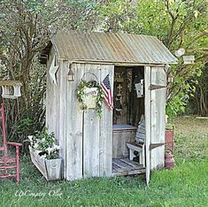 Love this garden shed..