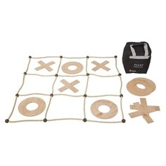 Giant Noughts and Crosses - diy
