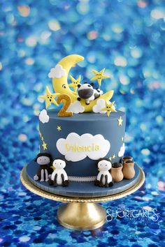 Creative Ideas for Extraordinary Cakes 1st Birthday Cakes, Baby Boy Birthday, Boy Birthday Parties, Birthday Ideas, Nursery Rhyme Party, Nursery Rhymes, Star Cakes, Gateaux Cake, Cakes For Boys