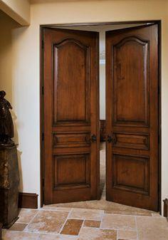 Master Bedroom Grand Entrance - traditional - interior doors - Southland Windows, Inc.