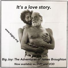 #gaylovestory BIG JOY: The Adventures of James Broughton www.bigjoy.org