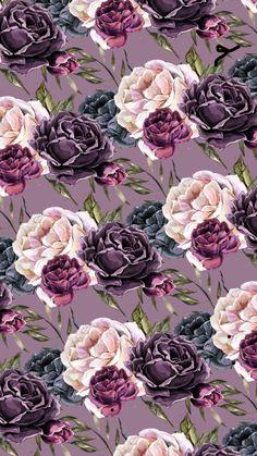 Floral Wallpaper Iphone, Vintage Flowers Wallpaper, Flowery Wallpaper, Flower Background Wallpaper, Rose Wallpaper, Cute Wallpaper Backgrounds, Cellphone Wallpaper, Flower Backgrounds, Pretty Wallpapers