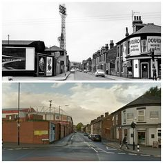 John Street,Sheffield Sheffield United Fc, Bramall Lane, Sources Of Iron, Industrial Development, Best Football Team, My Town, Derbyshire, Old And New, Yorkshire