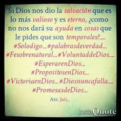 Confía, Dios sabe lo que hace... #Solodigo... #palabrasdeverdad... #Fesobrenatural... #VoluntaddeDios.... #EsperarenDios... #PropositosenDios... #VictoriaenDios... #Diosnuncafalla.... #PromesasdeDios...