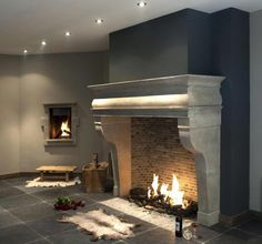 Fireplace surround, diy fireplace, fireplaces, fireplace remodel, fireplace d Wooden Fireplace Surround, Fireplace Mantle, Fireplace Surrounds, Fireplace Design, Fireplace Remodel, Natural Stone Fireplaces, Log Burner, Home Living, Architecture