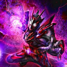 Kamen Rider Zi O, Kamen Rider Series, Jin Kazama, Dark Warrior, Zero One, Joker Wallpapers, Armor Concept, Anime Japan, First Art