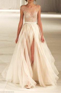 Chanel, my ideal wedding dress