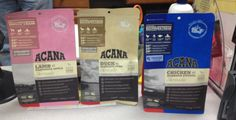 Love the new ACANA formulas ::: available at Healthy Pet in Austin, TX healthypetaustin.com