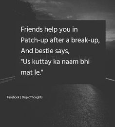 Luv u yrrr mere besti 😋 True Feelings Quotes, Feelings Words, Truth Quotes, Funny Quotes, Urdu Quotes, Besties Quotes, Best Friend Quotes, Feeling Words List, Punjabi Attitude Quotes
