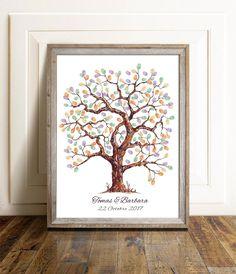 Wedding Tree Guest Book, Guest Book Tree, Our Wedding, Wedding Ideas, Guest Books, Wedding White, Fall Wedding, Destination Wedding, Wedding Fingerprint Tree