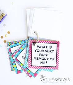 Romantic Question Cards for Couples