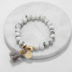 Bracelet Rose Gold, Bracelets Roses, Tassel Bracelet, Id Bracelets, Stone Bracelet, Bracelet Set, Beaded Necklace, Beaded Jewelry, Surfer Bracelets