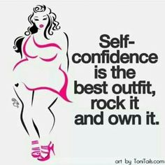 Self confidence rock