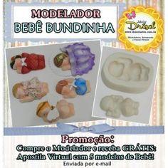 Modelador Bebê Bundinha (BRINDE Apostila Virtual)