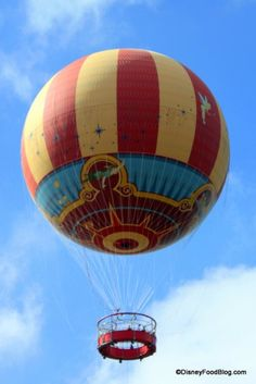 Characters in Flight Balloon in #DisneyWorld's Downtown Disney!