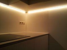 LED RGB + Warm in Kitchen.