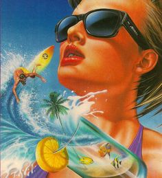 #80's #Illustration #summer #surf