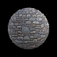 Free seamless textures with PBR maps.