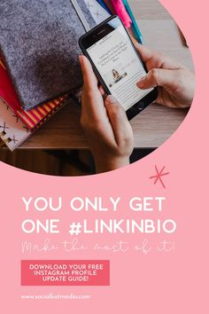 You only get one clickable link in your Instagram profile so you need to make the most of it. Read the full blog post for my advice on building a #linkinbio that converts. Learn about the pros and cons for using third party apps and why I suggest linking to your own custom landing page native to your website. Don't forget to download your FREE Instagram Profile Update Guide!  #InstagramLinkInBio #InstagramTips #InstagramMarketing #InstagramProfile Social Media Analytics, Social Media Content, Social Media Marketing, Online Marketing, Free Instagram, Instagram Tips, Instagram Marketing Tips, Third Party, Get One
