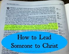 Learn how to lead someone to Christ. Greatest Accomplishment EVER! Christian Faith, Christian Quotes, Bible Scriptures, Bible Quotes, Just Keep Walking, Soli Deo Gloria, Good Vibe, Lord And Savior, Faith In God
