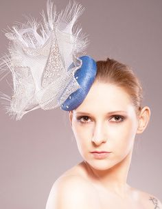 Blue Planet Blue Swarovski Crystals Silver Grey / by EllaGajewska, £158.00  photo:Pawel Wodnicki