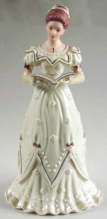 lenox figurines | LENOX Classic Ivory Christmas Figurines STOCK