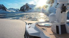 """""""It's a whole new clientele that this concept is going to appeal to,"""" Caminada adds. """"It's uncharted territory and it's going to be an eye-opener to a lot of people who are not into the traditional yachting world -- they might think, 'Now, this is something I'd like to do with a boat.'"""""""