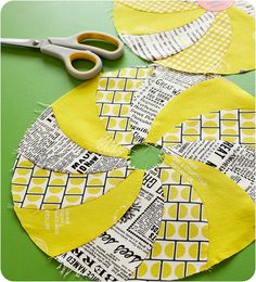 clever piecing from Amy @ Badskirt, great colours