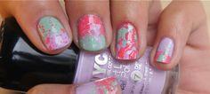 Nail Art: Spring Splatter
