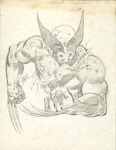 Wolverine by John Byrne. 1979. | John Byrne Draws...
