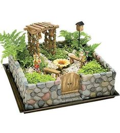 Fairy Gardens Archives - Page 4 of 866 - DIY Fairy Gardens - Garden Care, Garden Design and Gardening Supplies Garden Crafts, Garden Projects, Garden Art, Garden Ideas, Mini Fairy Garden, Fairy Garden Houses, Fairy Gardening, Fairies Garden, Indoor Gardening