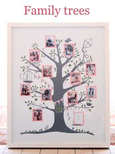 Famille Summerbelle Family Tree: A sweet family tree for a growing family Family Tree Quilt, Family Tree Photo, Picture Tree, Free Family Tree, Family Trees, Family Tree Designs, Beautiful Family, Scrapbooking, Gallery Wall