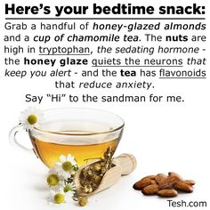 Worth a try -- although sometimes chamomile makes me congested (allergies)