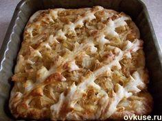 Пирог с капустой из необыкновенного теста
