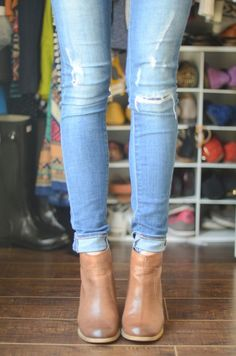 jeans and ankle boots - yes!