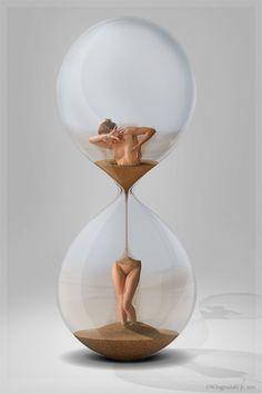 Sanduhr / Hourglass by Ingendahl.deviantart.com on @deviantART