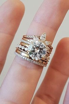 33 TOP Engagement Ring Ideas ❤️ top engagement ring ideas unique wedding bands diamond ❤️ See more: http://www.weddingforward.com/top-engagement-ring-ideas/ #weddingforward #wedding #bride #engagementrings #weddingring