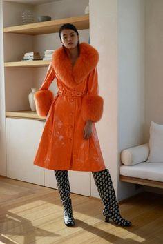 Saks Potts Fall 2019 Ready-to-Wear Fashion Show - Vogue Fashion Week, Runway Fashion, Winter Fashion, Fashion Show, Fashion Outfits, Fashion Design, Fashion Killa, Style Fashion, Vogue Paris