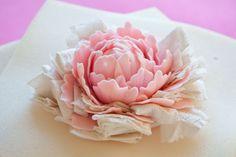 IMG_6133_edited-1 Fondant Flower Tutorial, Fondant Flowers, Clay Flowers, Cake Tutorial, Cake Decorating Techniques, Cake Decorating Tutorials, Fondant Cakes, Cupcake Cakes, Fondant Bow