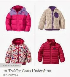 Grace And Josie: 10 Adorable Toddler Coats Under $100