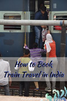 Planning train travel India