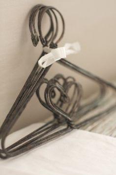 antique baby hangers