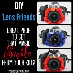 Photo Journal Evidence can be difficult....  DIY Lens Friends ... might make it easier to capture attention.